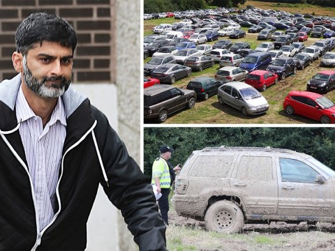 Airport parking scammer who earned £1,000,000 dumping cars in fields is jailed