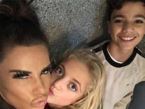 Katie Price takes another swipe at 'strict' Peter Andre as she claims she lets kids 'be feral'