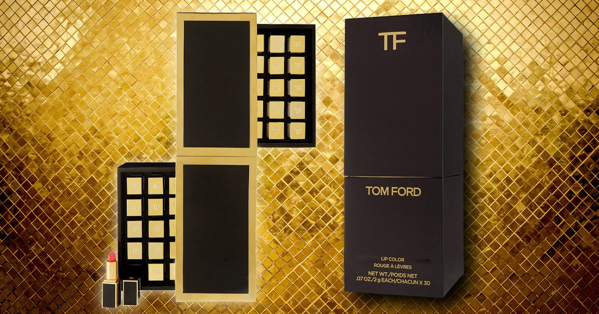 This Tom Ford Beauty Lip Vault will cost you a month's wages