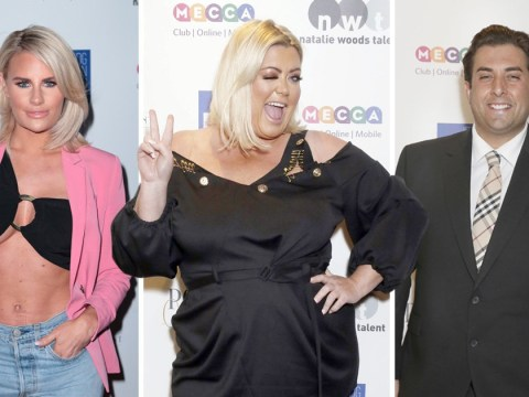 Gemma Collins dishes out flirty wink as she joins James Argent and Towie stars at Cancer Research UK party