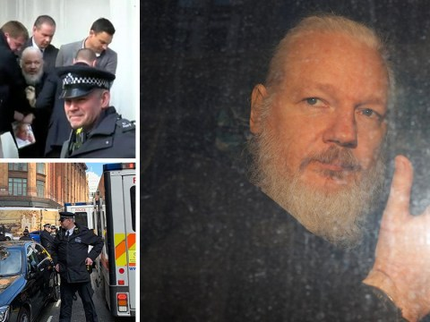 WikiLeaks founder Julian Assange arrested at Ecuadorian embassy