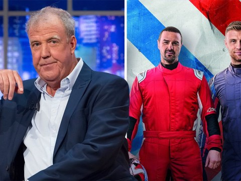 The Grand Tour's Jeremy Clarkson is suitably smug about Top Gear's car crash ratings as he refuses to back Paddy McGuinness and Freddie Flintoff