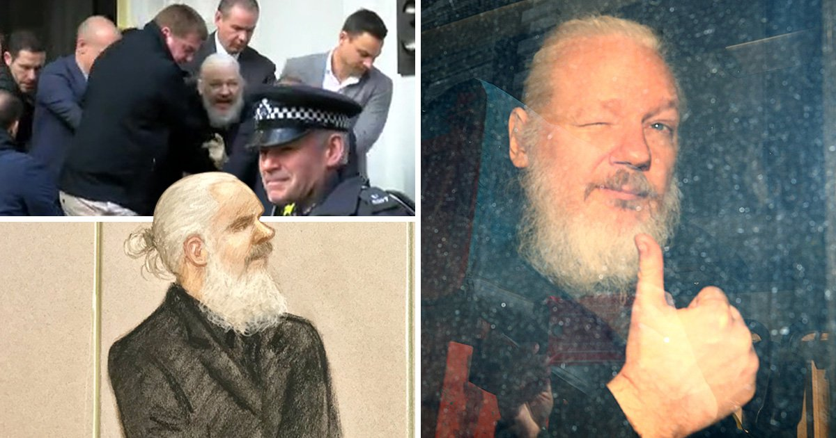 Julian Assange faces 12 months in prison for breaching bail