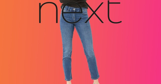 Next launches in-between jeans