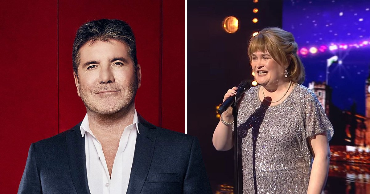 Simon Cowell rushes to comfort emotional Susan Boyle after she makes extra AF Britain's Got Talent return