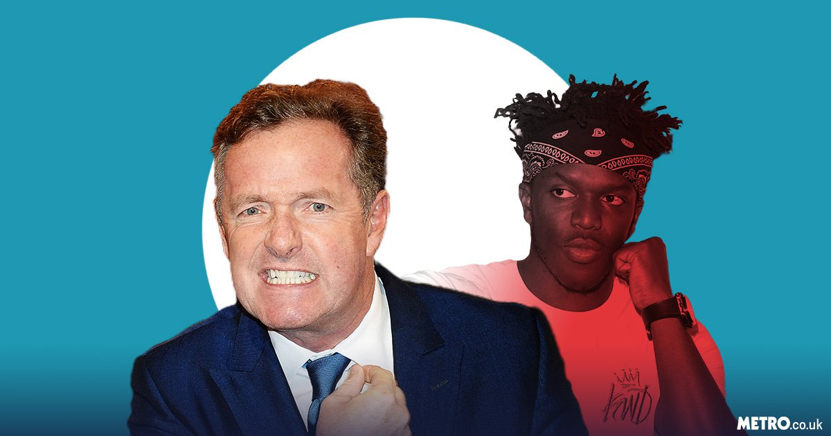 Piers Morgan reckons he's 'the real king of the internet' in money battle with KSI