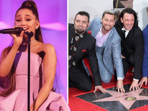 Ariana Grande is teaming up with N'Sync for Coachella headlining set