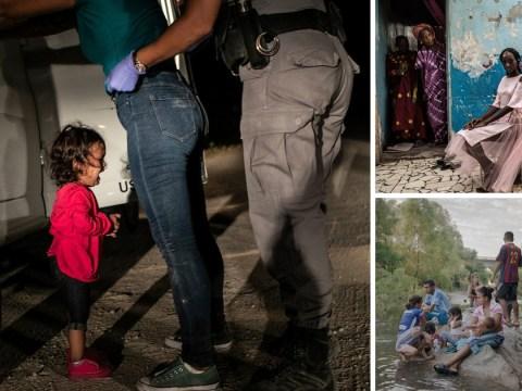Crying girl at Mexican border wins World Press Photo of the Year award