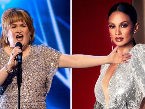 Susan Boyle's Britain's Got Talent return was a 'magical moment', says Alesha Dixon
