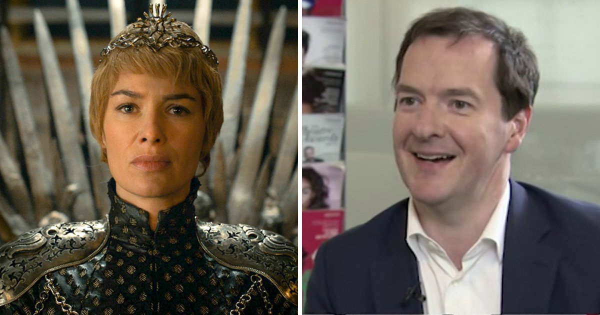 Cersei Lannister is George Osborne's fave Game Of Thrones character