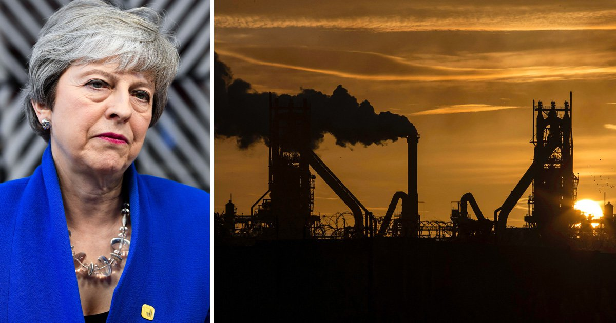 British Steel in urgent need of £100,000,000 after EU freezes funds over Brexit