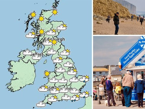 UK to bask in Easter sunshine as temperatures hit 20C in time for bank holiday