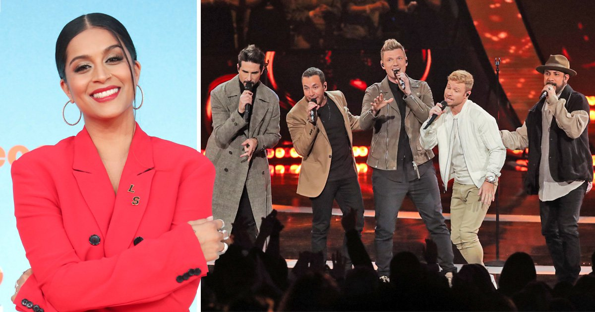 Lilly Singh is all of us as she freaks out when Backstreet Boys bring her onstage
