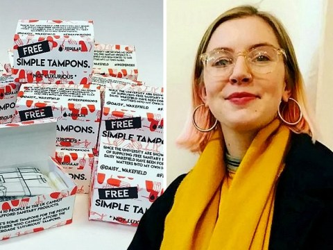 Woman spends student loan on sanitary products to tackle period poverty at university