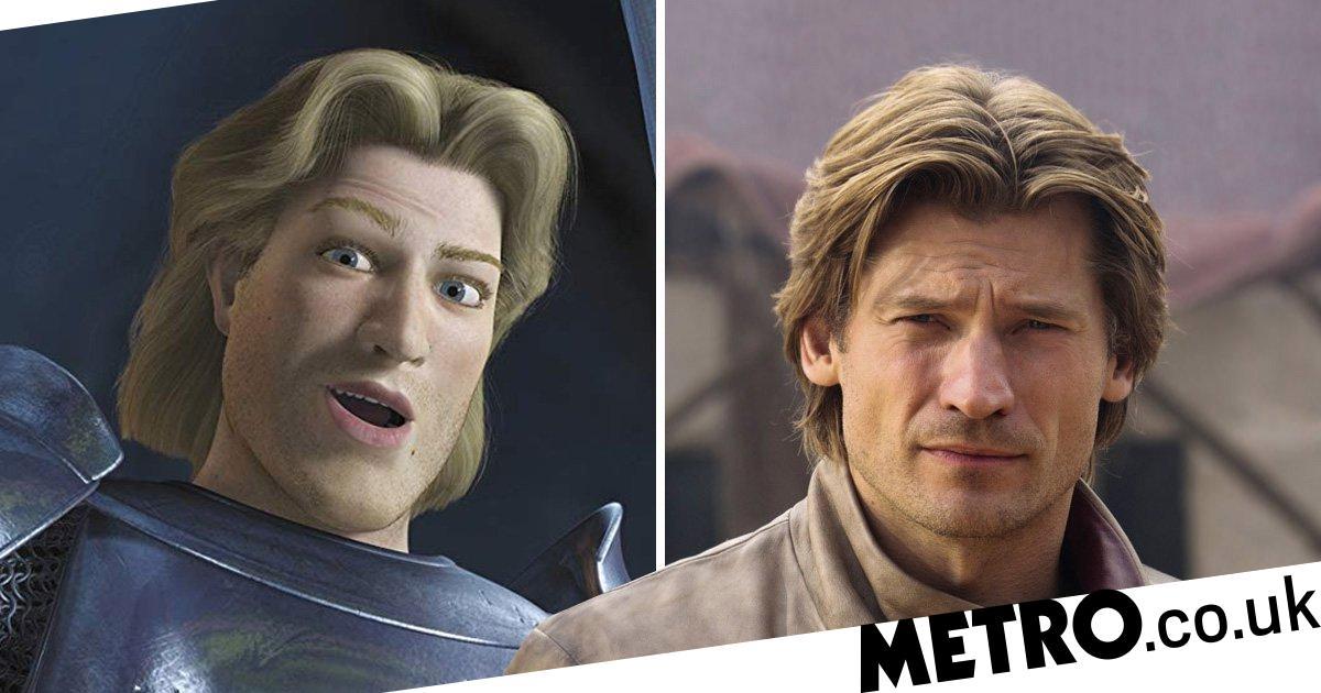 Game Of Thrones' Jaime Lannister looks like Shrek's Prince