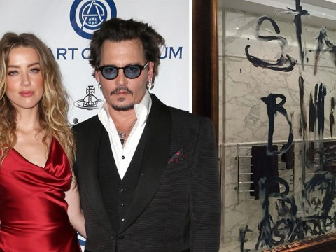 Johnny Depp 'scrawled jealous messages to Amber Heard in oil paint and blood' after severing finger