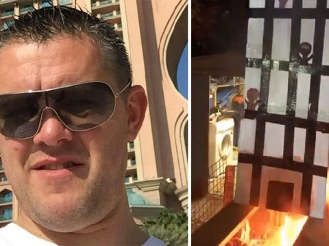 Man charged over video of cardboard Grenfell being burnt on bonfire