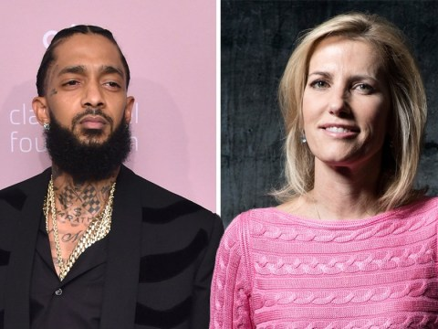 Fox News host Laura Ingraham mocks Nipsey Hussle memorial service after showing images of wrong rapper