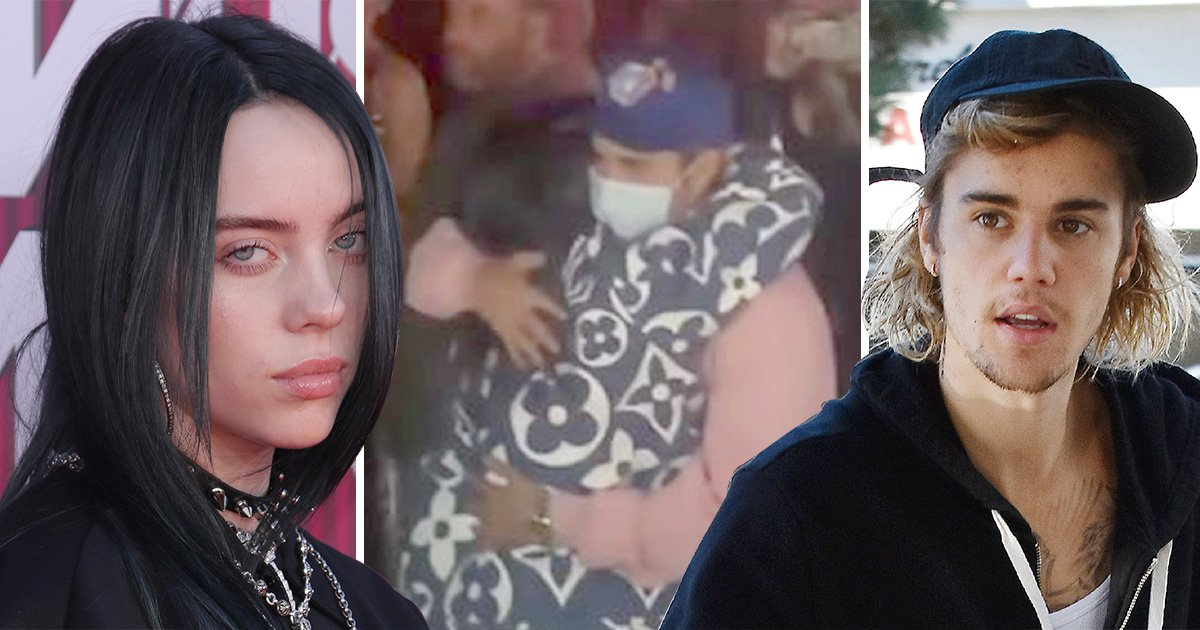 Billie Eilish and Justin Bieber finally met at Coachella after he slid into her DMs