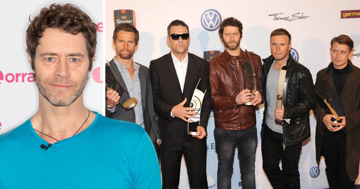 Take That's Howard Donald wants you all to know about his pre-tour colonic irrigation ritual