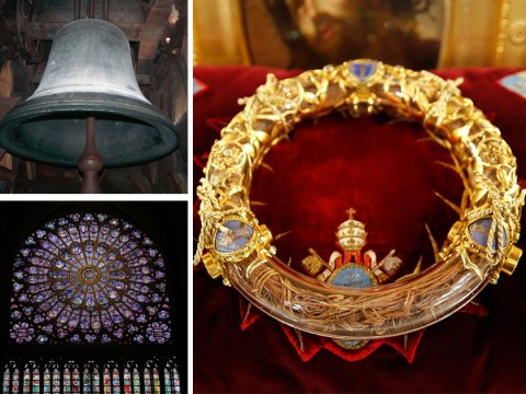 Notre Dame crown of thorns and St Louis tunic saved from cathedral fire
