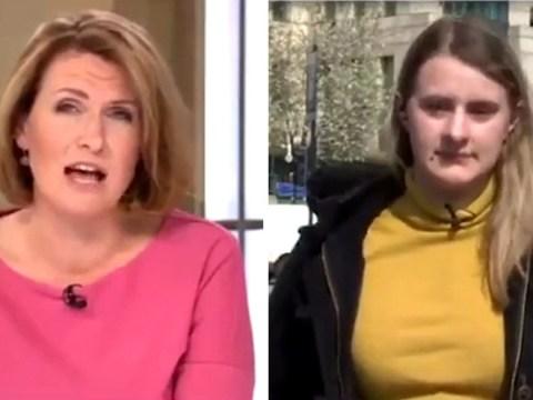 Sky News presenter slammed for 'patronising' response to young renter