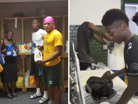 Principal installs laundry room in school to stop kids being bullied for dirty clothes