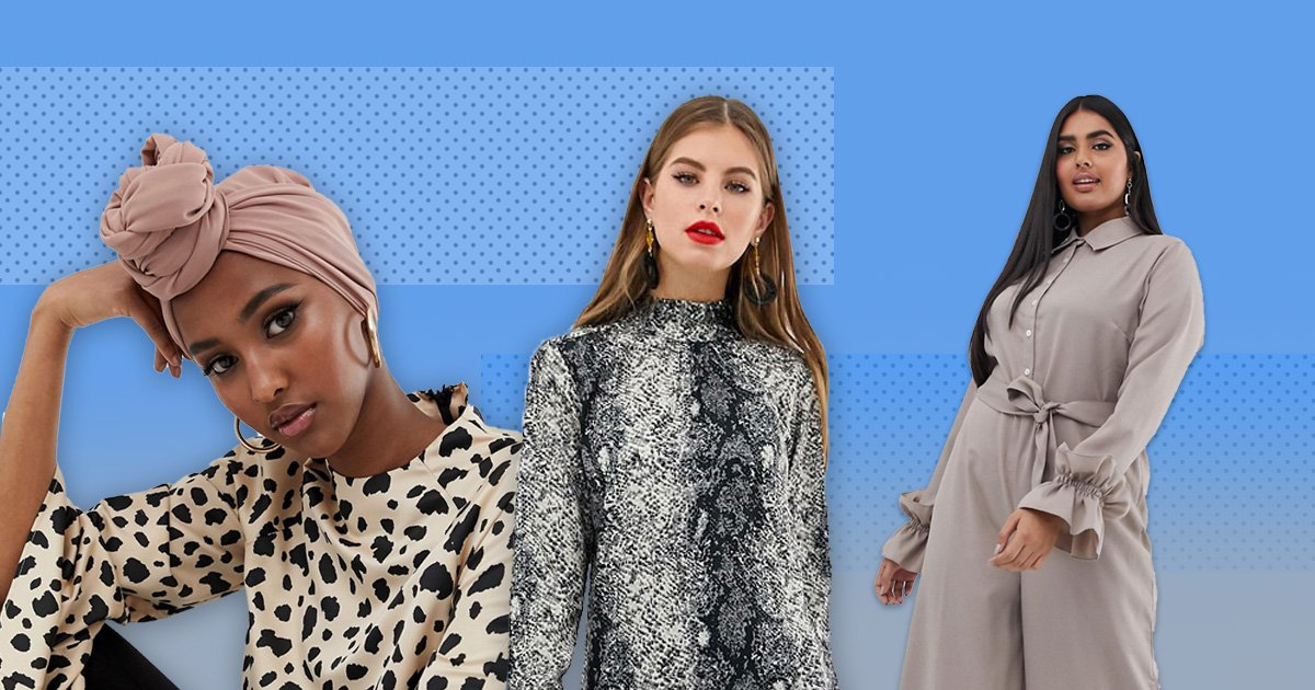 ASOS launches modest fashion range with Muslim model showing off hijabs and dresses