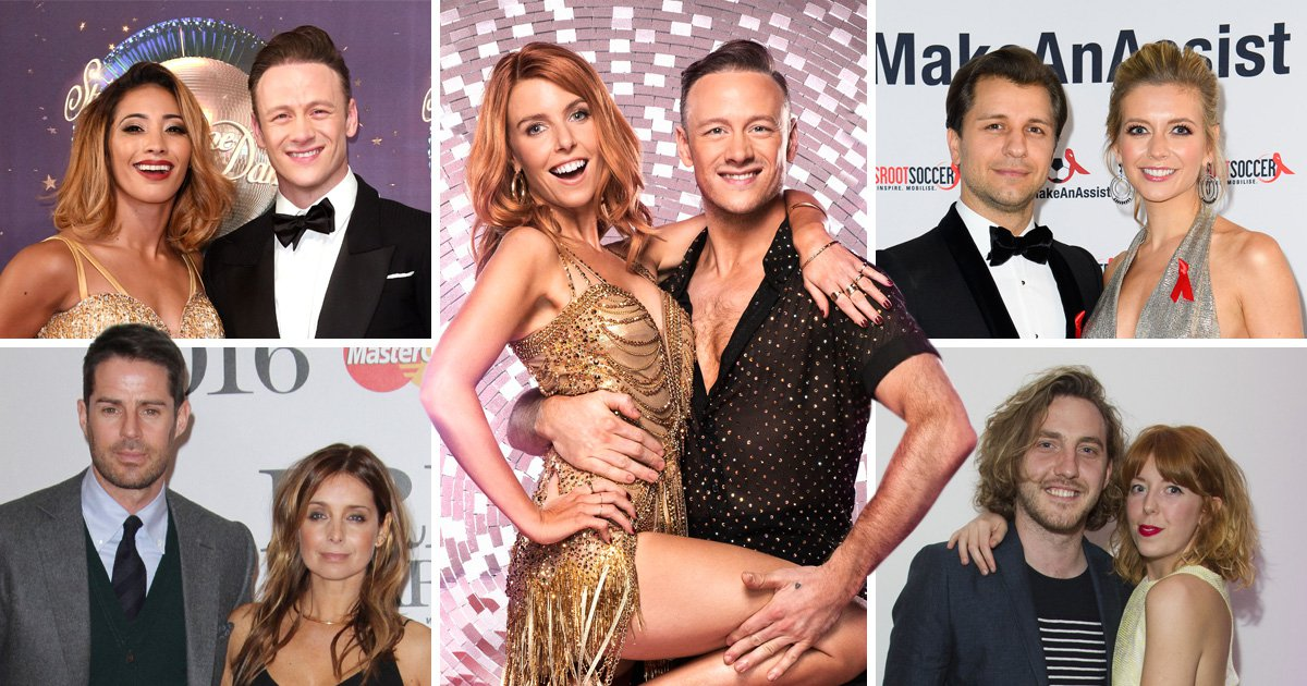 Comp of couples affected by the Strictly Come Dancing curse