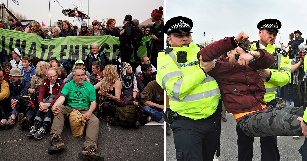 Climate change protesters to disrupt the London Underground tomorrow