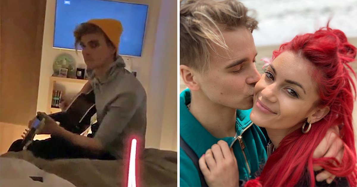 YouTube star Joe Sugg serenades Strictly Come Dancing girlfriend Dianne Buswell and we can't handle it