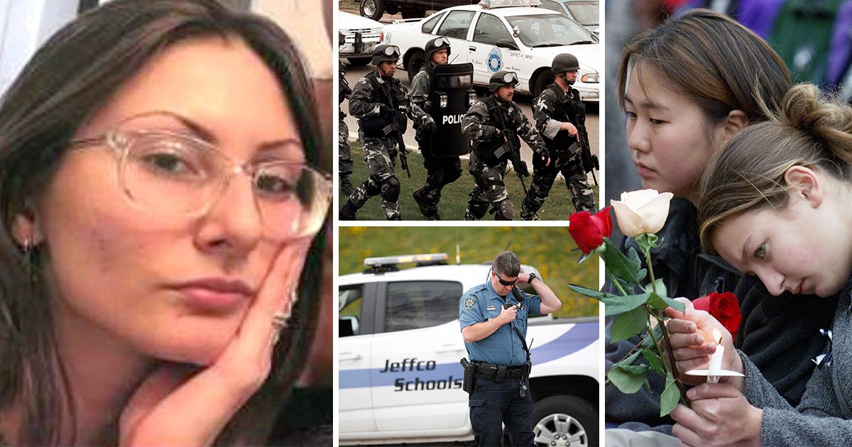 Girl obsessed with Columbine massacre is armed 'and on her way to the school'