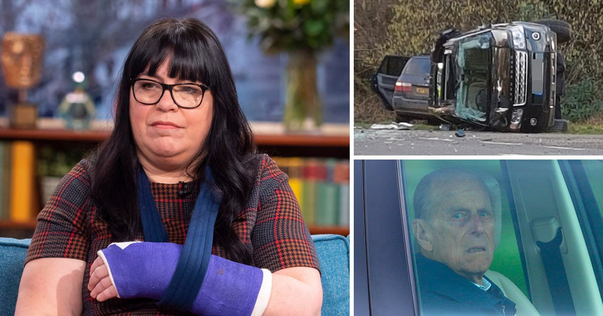 Woman who said Prince Philip should be prosecuted after crash faces driving ban