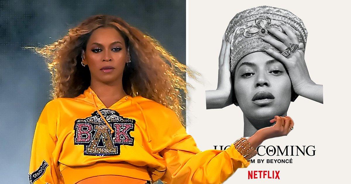 Beyonce's Homecoming poster