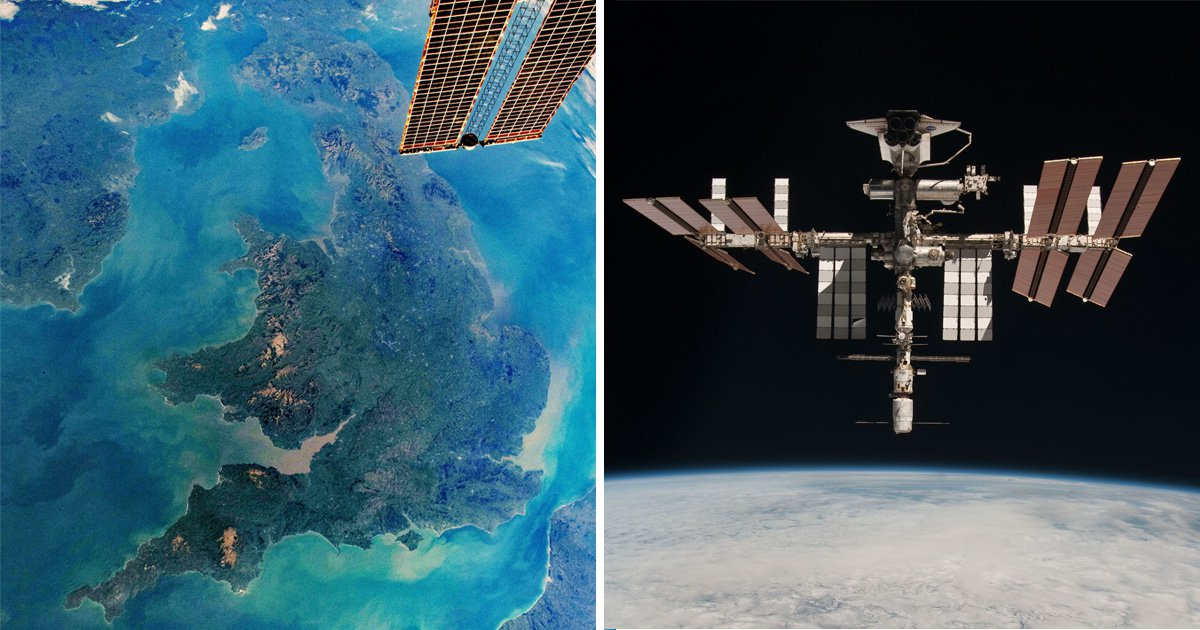 Nasa releases incredible photo of the UK taken from the International Space Station