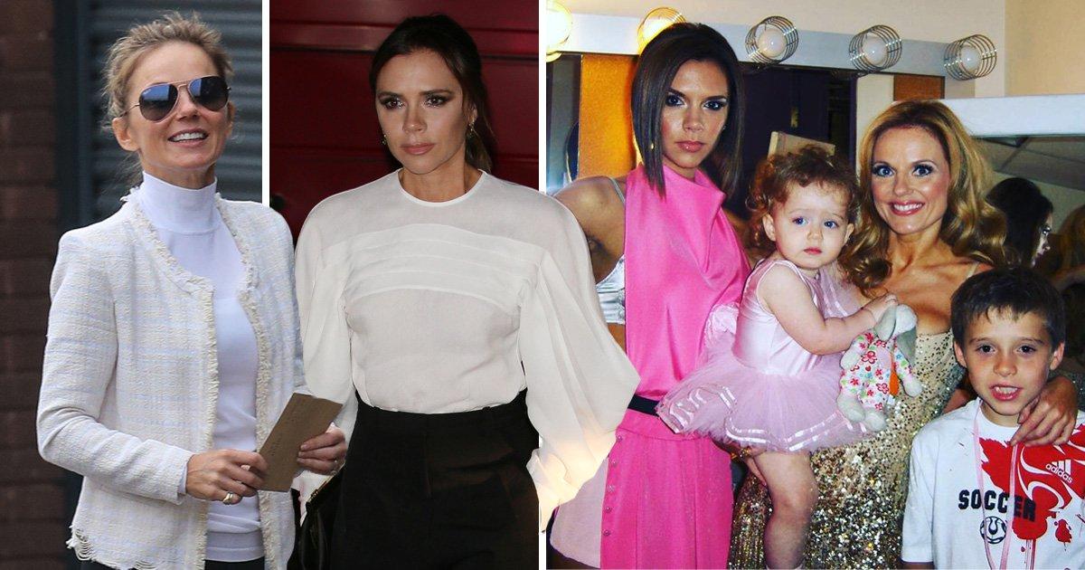 Geri Horner celebrates Victoria Beckham's 45th birthday with Spice Girls tour throwback