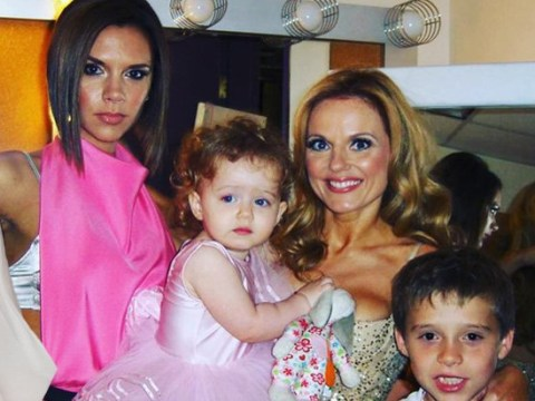 Geri Horner celebrates Victoria Beckham's 45th birthday with Spice Girls tour throwback