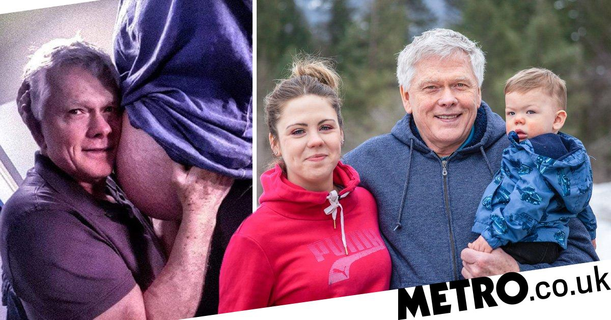 Married Couple With 45-year Age Gap Have Their First Child