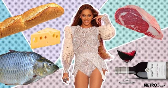 Beyonce reveals Coachella diet