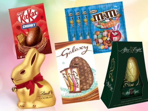 Easter eggs ranked by amount of sugar and fat in them