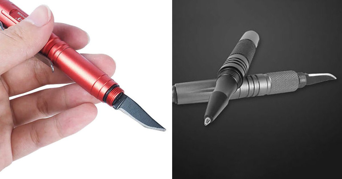 Ebay removes listings for 'self-defence pens that turn into knives'