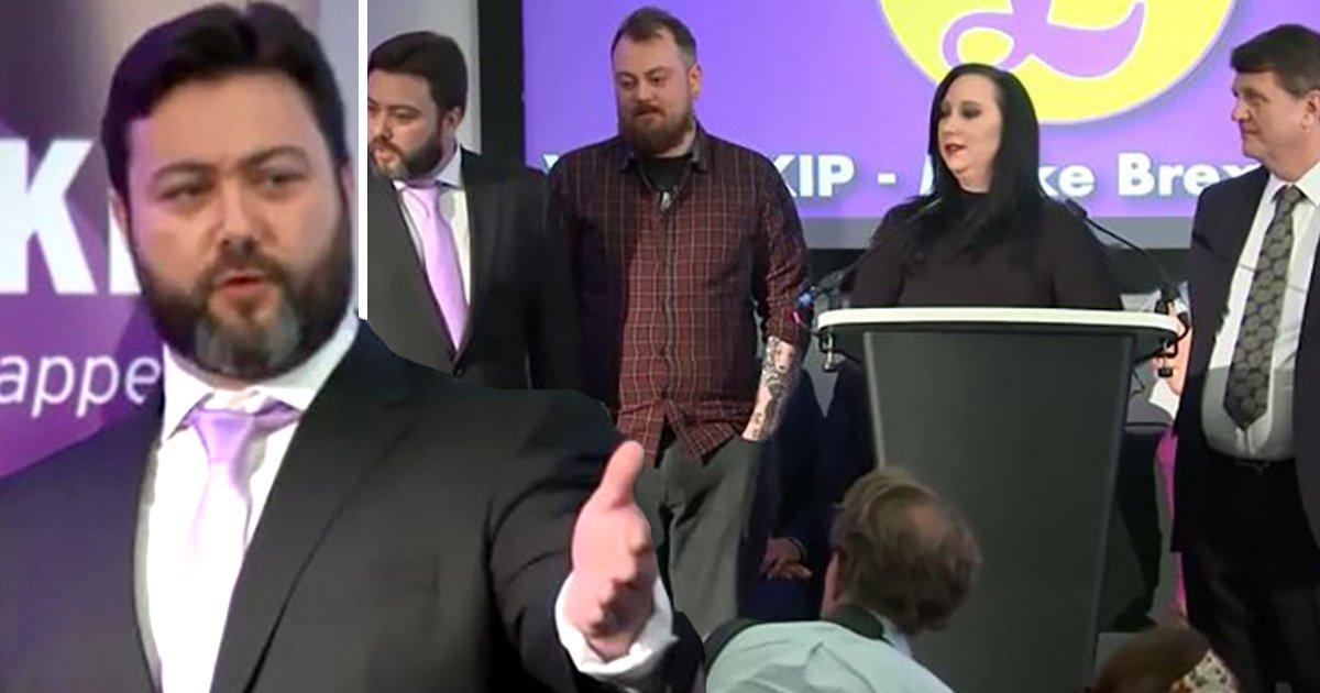 Utterly shambolic start to Ukip's EU election bid