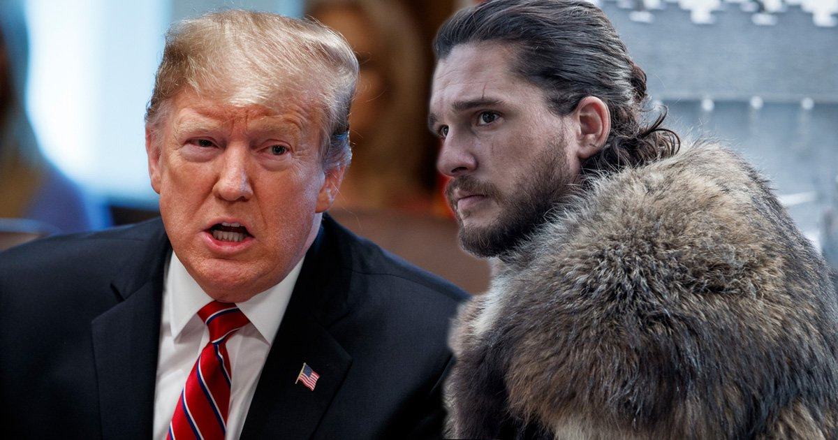 HBO wants Donald Trump to stop using Game Of Thrones memes