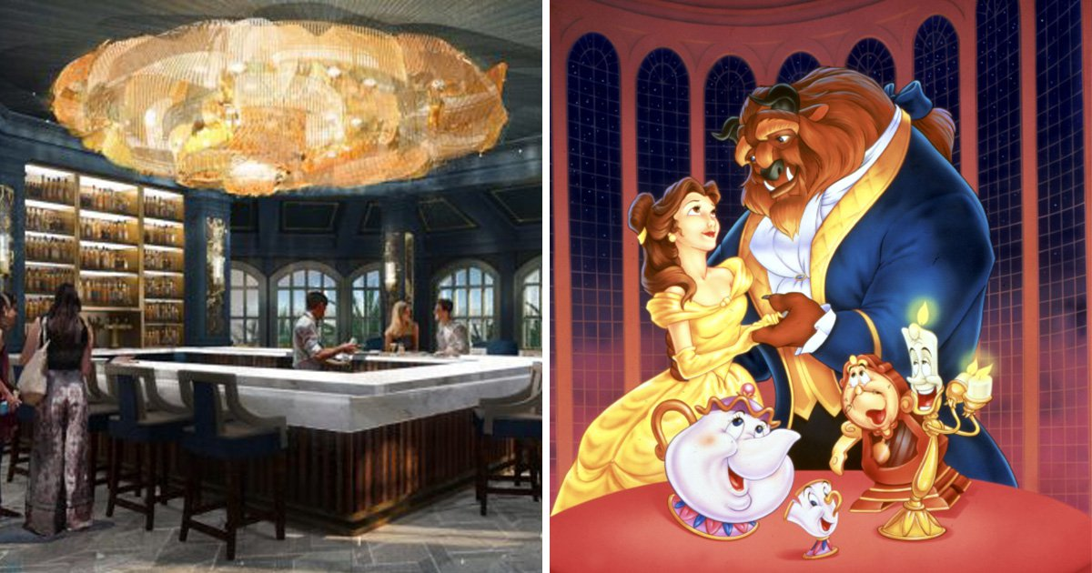 Walt Disney World is launching a stunning Beauty and the Beast bar and lounge