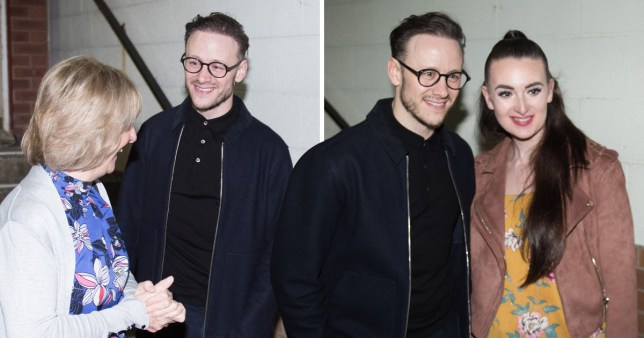 0001 EMB Kevin Clifton meets fans outside Southport Theatre