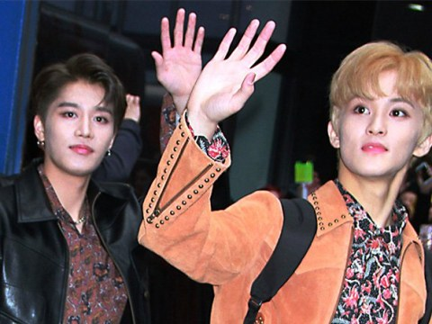 K-Pop group NCT 127 look like kings as they leave Good Morning America after first performance of new song Superhuman