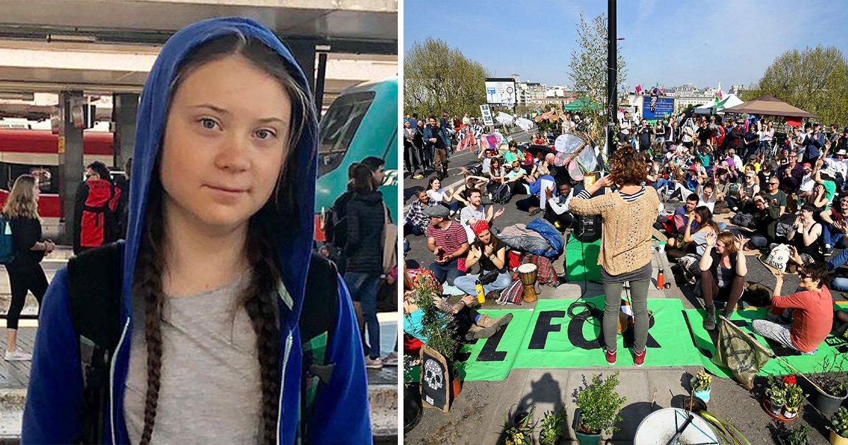 Greta Thunberg is on her way to London