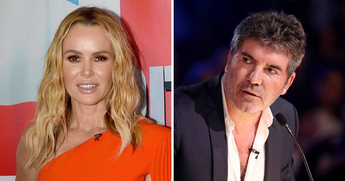 Britain's Got Talent's Amanda Holden lets slip Simon Cowell's address in awkward blunder