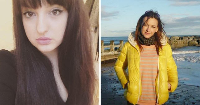 The two women who died after going for a swim off the coast of Aberdeen have been pictured (Pictures: Facebook)