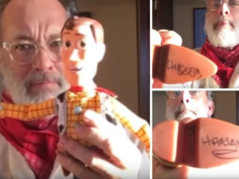 Tom Hanks creates utterly moving Toy Story video for twins conjoined at birth